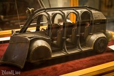 Journey to the Center of the Earth Ride Vehicle Model for Tokyo DisneySEA