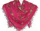 colorful spring scarves