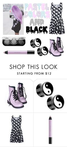 """""""Pastel Goth #15"""" by neverlandcth ❤ liked on Polyvore featuring Chicnova Fashion, shu uemura and MAKE UP FOR EVER"""