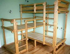 3 bed bunk bed | bunk beds | Casyn James