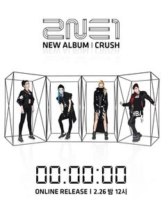 [2NE1 – 'CRUSH' COUNTER] originally posted by http://yg-life.com  @ http://www.yg-life.com/archives/28318?lang=en … pic.twitter.com/lMbA7wLSTA