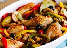 Mediterranean chicken bak image