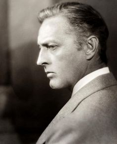 "old movie stars photos | Classic movie stars / John Barrymore--dubbed ""the great profile,"" and ..."