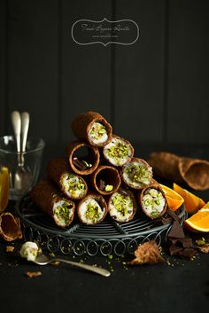 Cannoli siciliani by bognarreni, via Flickr