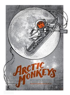 The Arctic Monkeys with Smith Westerns by Clinton Reno
