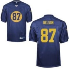 dac00cd54 ... Packers 87 Jordy Nelson Blue Stitched NFL Jersey · Nfl JerseysGreen  BayPackersNelson ...