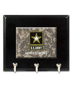 U.S. Army Camo Wood Wall Hook by Great American Products #zulily #zulilyfinds