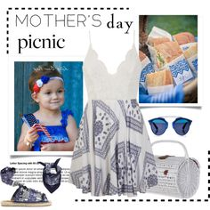 How To Wear Mother's Day Picnic Outfit Idea 2017 - Fashion Trends Ready To Wear For Plus Size, Curvy Women Over 20, 30, 40, 50