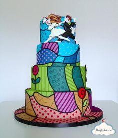 """Love Blossoms"" wedding cake - Cake by Mery Cakes   CakesDecor"