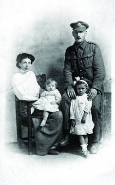 Cheshire Family- WW1