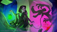 Game Of Thrones Disney Style Illustration Combo Estudio 10 5aafaa98d56ca 880