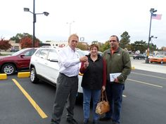 Tom VanDaele sells our first 2014 Jeep Cherokee to Pam and Matt. They are very excited!!