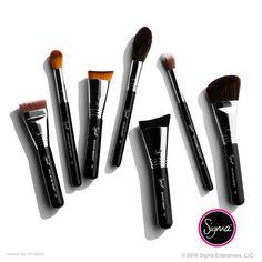 Sigma tiene una variedad de brochas especializadas para cada look de maquillaje.  #SigmaBeauty #Brochas