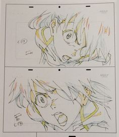 from Groundwork of Evangelion Character Design, Evangelion Art, Manga Drawing, Animation Sketches, Neon Evangelion, Evangelion, Anime Sketch, Animation Storyboard, Anime Character Design