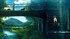 Anime Wallpaper Outside