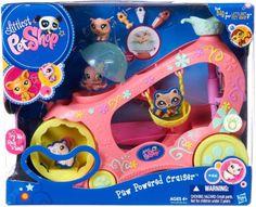 Amazon.com : Littlest Pet Shop Pet Vehicle : Lps : Toys & Games