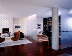 trennwand funktionalität design anpassungsfähig wohnzimmer   meble, Wohnzimmer dekoo