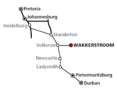 to get to wakkerstroom from Durban Pretoria, Newcastle, South Africa, Road Trip, How To Get