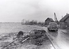 Strijenseweg 's-Gravendeel (jaartal: 1950 tot 1960) - Foto's SERC