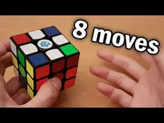 It's difficult at first, but with some practice, anyone can have world-class cross solutions (seriously). Thank you for 200 subs! Rubics Cube Solution, Rubiks Cube Patterns, Rubric Cube, Solving A Rubix Cube, Rubik's Cube Solve, Rubiks Cube Algorithms, Creative Activities For Kids, Cube Puzzle, Minecraft Creations