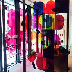 We are celebrating the 50th anniversary of our most iconic print of all time, Unikko (poppy). To join in on this special celebration, a Japanese sweet shop HIGASHIYA GINZA (Tokyo) opened today a special Unikko pop-up café. #marimekko #unikko50 #unikko