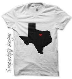 Pick Any State Iron on Transfer - Texas Iron on PDF / Ohip Shirt Heart / Boys California Tshirt / Womens State Shirt / Virginia Printable -C