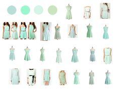 Bridemaid dresses Mint green