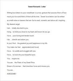 Business organization letter format letter template pinterest 10 romantic letter samples free printable word pdf formats altavistaventures Images