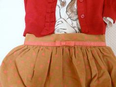 Outfit for Kids with THE BALLOON SKIRT on www.fiammisday.com  fashion children toddler