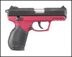 Ruger SR-22 Pistol - Raspberry: Hoffman's Gun Center - $299 + $25 S/H   Slickguns
