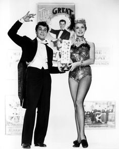 Tony Curtis With Janet Leigh