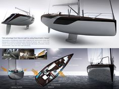 """This is one of the first """"living lab"""" designed boats, winner of the category. More like an open competition without implementation, than actual living lab - but the plans are neat."""