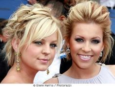 celebrity-updo-hairstyles-08.jpg Short hair can be difficult to style in the