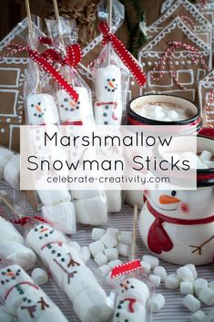 It's getting to be crunch time as we countdown to the most wonderful day of the year. Kids Christmas Treats, Christmas Food Gifts, Snowman Christmas Ornaments, Childrens Christmas, Christmas Sweets, Homemade Christmas Gifts, Christmas Crafts, Christmas Cooking, Xmas Gifts