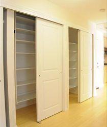 look at those closets...