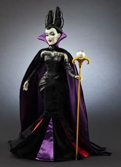 Maleficent Designer Doll Good god I need this O_o