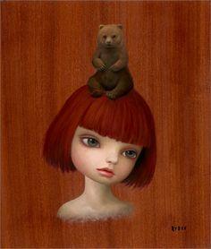 mark ryden | Mark Ryden - Bear Girl