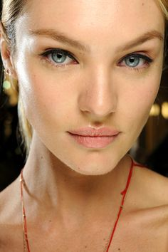 A/W Stella Mccartney natural lips & winged liner