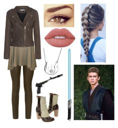 """""""Rey Lyn Kenobi"""" by fashionablehottie25 on Polyvore featuring The Row, WearAll, IRO and Lime Crime"""