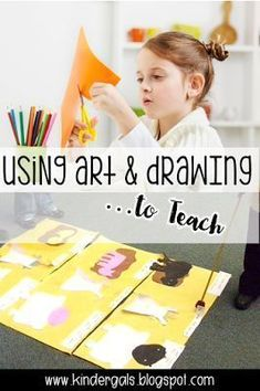 Building Brain Power through Drawing and Artwork. Great ideas for kindergarten, preschool, and early childhood teachers.