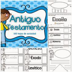 De los tales recursos listos para imprimir y usar en la escuela dominical y el hogar Antiguo Testamento