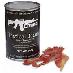 It's about time we recognized bacon's tactical uses. Someone lend me a hundred bucks, I'm stocking up for the zombie apocalypse.