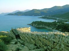 Wall of ancient Stagira - Macedonia, Greece - Home of Aristotle the Greek Philosopher
