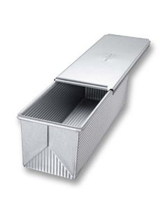 USA Pans 13 x 4 x 4 Inch Pullman, Aluminized Bite the bullet with Americoat