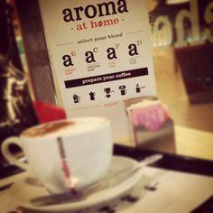 #coffee + #home. Aroma Espresso Bar, Toronto.