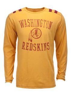 Redskins Long Sleeve Bruiser T-Shirt   Washington Redskins T-Shirts at RedskinsTeamStore.com