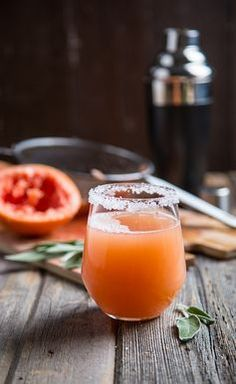 Grapefruit Sage Hydrating Mocktail /