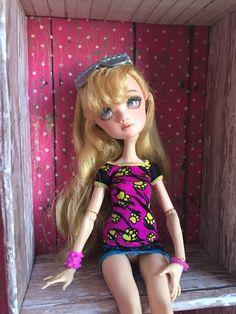 Cereal Box Doll Wardrobe, Handmade by me!