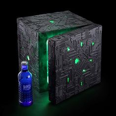 Smarty: Nevera para refrescos, Cubo Borg de Star Trek