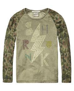 Raglan rocker T-shirt - Scotch